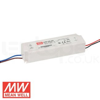 35W LPV-35 Waterproof LED Driver