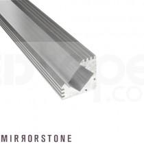 1m 45° Corner Aluminium Profile/Extrusion