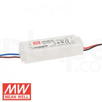 20W LPV-20 Waterproof LED Driver